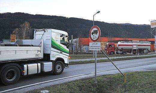 Lkw-Fahrverbote