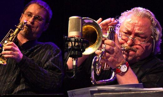 Herbert Joos (rechts) starb im Alter von 79 Jahren