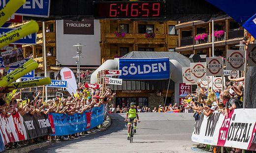 Ötztal Radmarathon, Nothegger, Streckenrekord