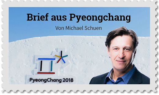 Grüße aus Pyeongchang von Michael Schuen