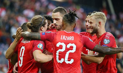 Österreich will heute in Polen wieder jublen