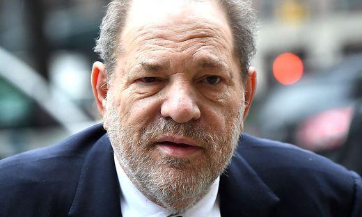 Ex-Filmmogul Harvey Weinstein