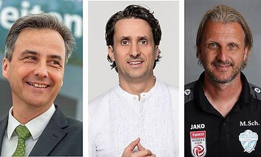 Siegfried Nagl, Martin Auer und Markus Schopp