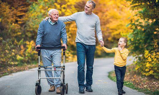 Ab Montag gelten in St. Veiter Pflegeheimen eingeschränkte Besuchszeiten