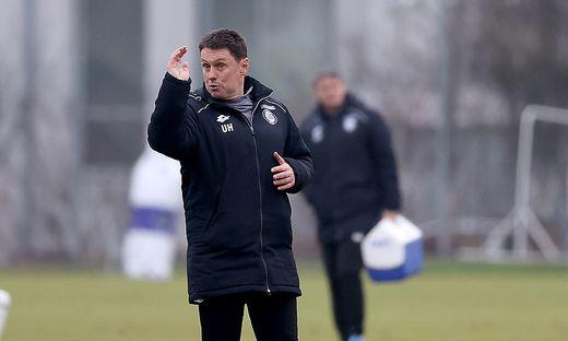 Sturms Co-Trainer Uwe Hölzl