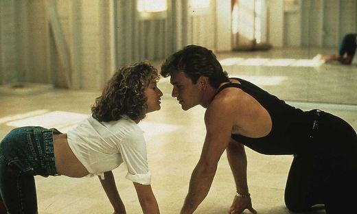 "Jennifer Grey und Patrick Swayze in ""Dirty Dancing"""
