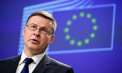 Valdis Dombrovskis, Vizepräsident der EU-Kommission