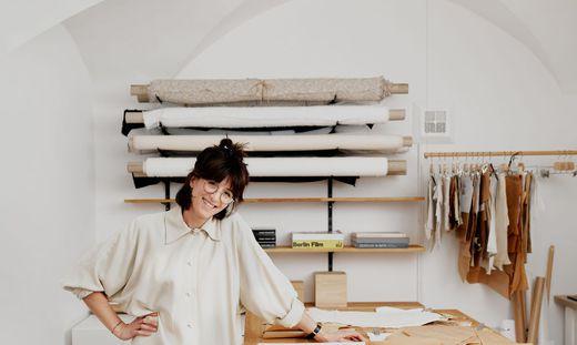Iva Ivanova in ihrem neuen Geschäft
