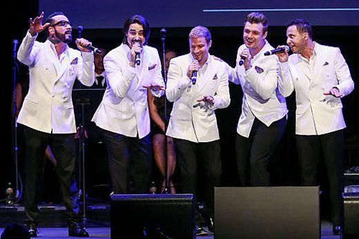Aus den Backstreet Boys sind natürlich längst Männer geworden