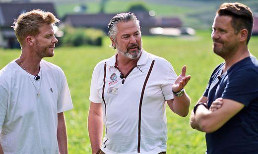 Die Starköche vor Ort:  Nils Egtermeyer, Frank Oehler, Mike Süsser (von links)