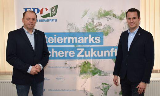 Die Freiheitlichen Manfred Repolust und Stefan Hermann fordern eine Überprüfung der Gemeinde Großkein