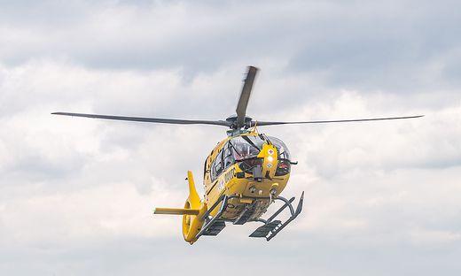 Das Kind wurde vom Notarzthubschrauber in die Kinderklinik des LKH Graz gebracht