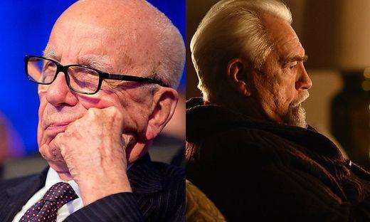 Rupert Murdoch gilt als Vorbild für die Serienfigur Logan Roy (Brian Cox)