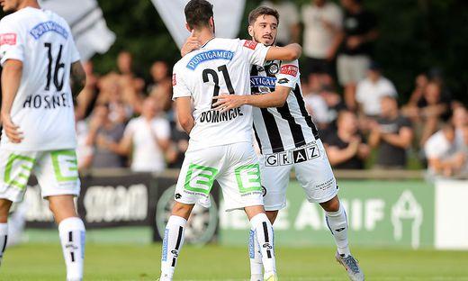 Dominguez und Kiteishvili bejubelten den Sieg
