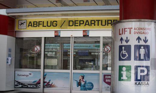Corona Flughafen Klagenfurt