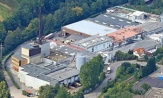 Das Mayr-Melnhof-Werk in Baiersbronn