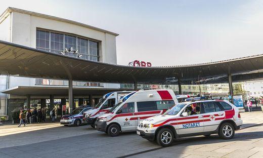 Polizei, Rettung und Notarzt waren im Einsatz