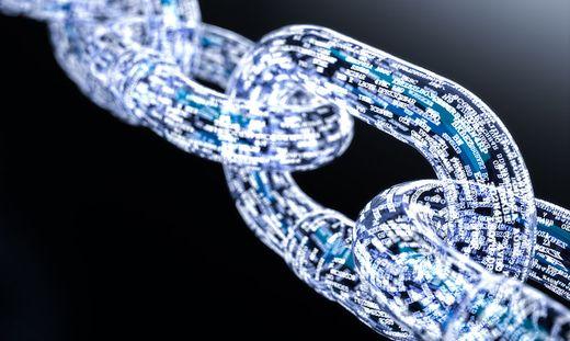 Die Blockchain ist eine dezentrale, verschlüsselte Datenbank