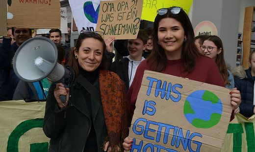 Schülerprotest Klimaschutz