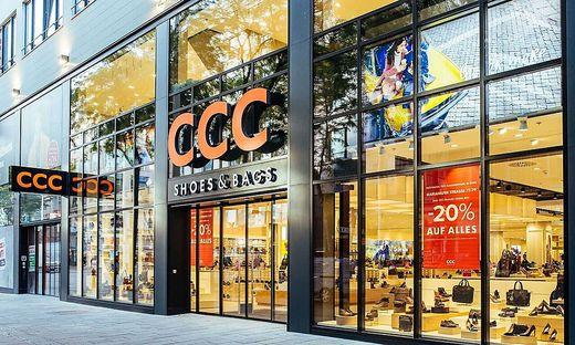 Die Fäden von CCC Austria laufen in der Zentrale in Graz zusammen. Österreichweit gab es zuletzt 46 Filialen (im Bild der Flagshipstore in Wien)