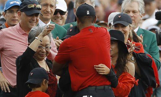 Tiger Woods und Familie