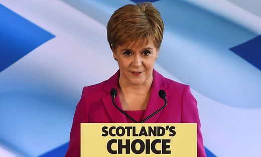 Die schottische Regierungschefin Sturgeon