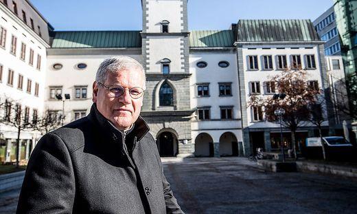 Ordinariatskanzler Jakob Ibounig ist Gesamtverantwortlicher für die Planung der Bischofsweihe