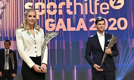 Ivona Dadic und Dominic Thiem sind die Sportler des Jahres