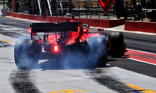 Vettel holte die Pole