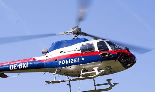 Polizeihubschrauber war im Einsatz