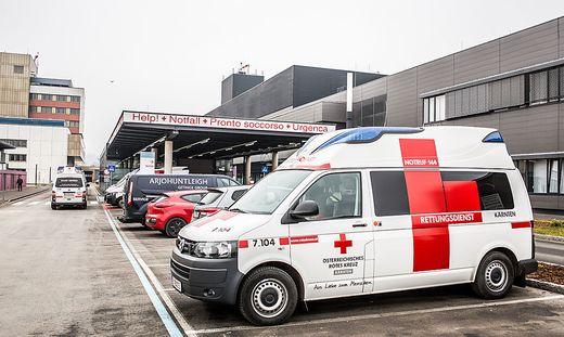 Der Verletzte wurde im Klinikum versorgt