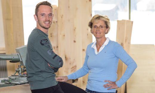 Sonja und Johannes Forstner betreiben eine Tischlerei in der Murauer Gemeinde Neumarkt