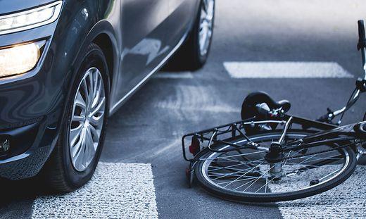 Unfallgefahr für Radfahrer