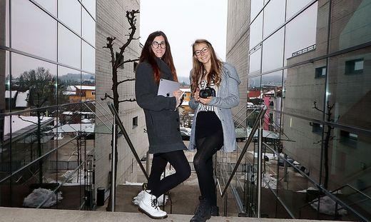 Melanie Fischer (links) und Melanie Köck eröffnen eine Werbeagentur und ein Fotostudio