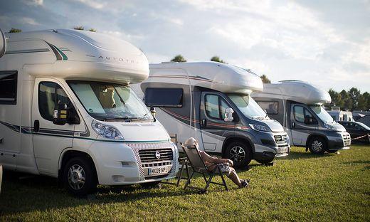 Österreich ist ein beliebtes Ziel für Camper