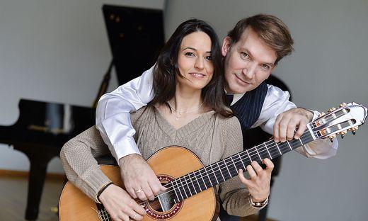 Anabel Montesinos  und Marco Tamayo spielen heute das Eröffnungskonzert