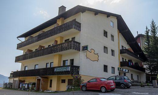 """Das ehemalige Hotel """"Rainsberghof"""" in Reichenfels"""
