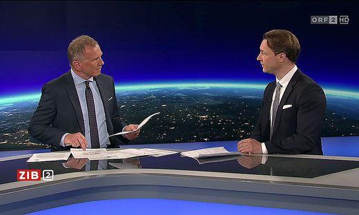 Armin Wolf im Gespräch mit Finanzminister Blümel