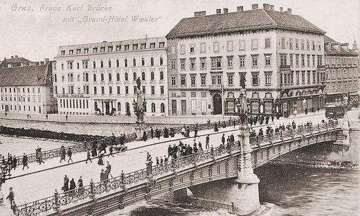 Franz-Karl-Brücke Erzherzog-Johann-Brücke