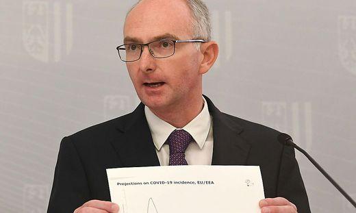 Primar Bernd Lamprecht, Vorstand der Klinik für Lungenheilkunde am Kepler Uniklinikum Linz