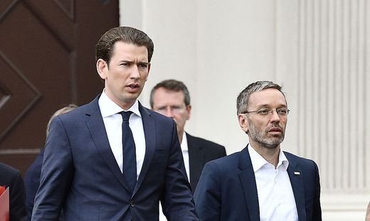 Kanzler und Innenminister