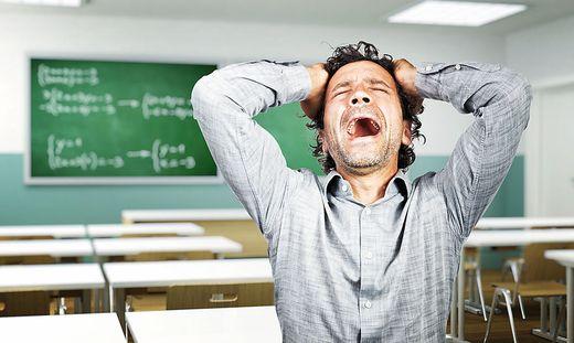 Lehrer Burnout