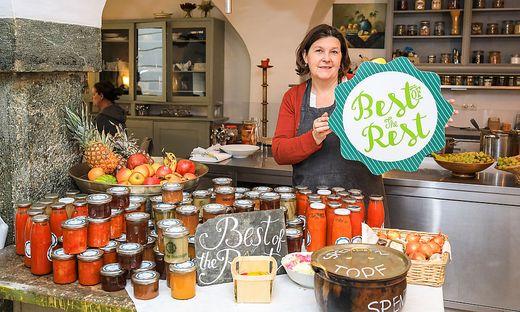 Elke Schlederer-Oberhauser betreibt das Lokal in Klagenfurt als Einzelunternehmerin