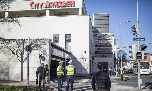 Sicherheitsuebung City Arkaden Klagenfurt Maerz 2017