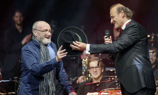 Dr. Phil Collins mit Wolfgang Hattinger, Kunstuni Graz