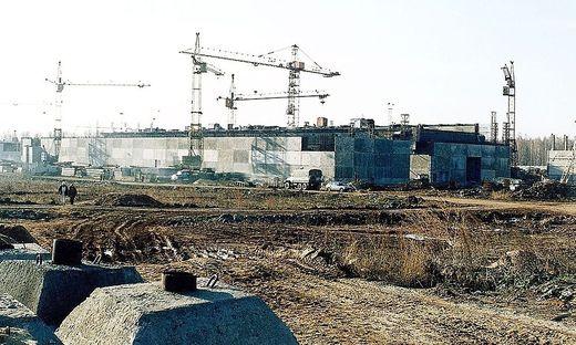Ein Teil der kerntechnischen Anlage Majak