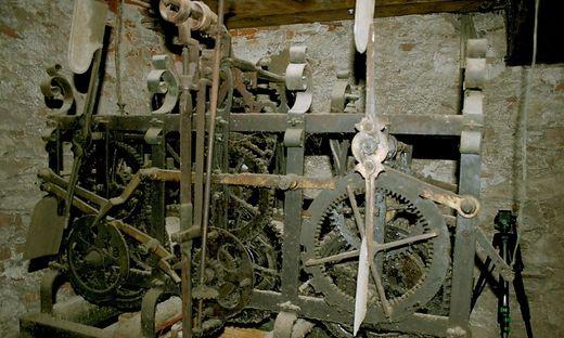 Das verschwundene Uhrwerk aus der Pfarrkirche Ehrenhausen