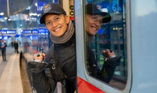 Eurovision Song Contest: Vincent Bueno reist am 8. Mai klimaschonend mit �BB-Nightjet in die Niederlande