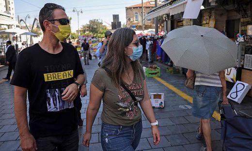 In Israel wurden die Corona-Maßnahmen wieder verschärft