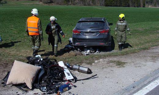 Die Unfallstelle in Hollenstein